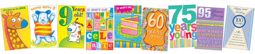 Birthday greeting cards with all collections here for you now